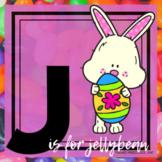 J is for Jellybean/Easter Themed Unit-Preschool Lesson Pla