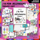 J is for Jellybean/Easter Themed Unit-Preschool Lesson Plans - Distance Learning