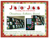 J is for Jesus - Candy Cane Craft & Poem