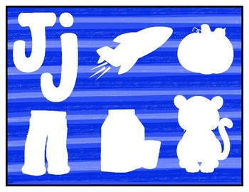 J is for Jets Activity Pack Alphabet Common Core {K.RF.1 K.RF.3} Toddler