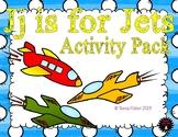 Letter of the Week - J is for Jets Preschool Kindergarten Alphabet Pack