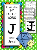 J is for Jewel.  To Use with My Father's World.  Alphabet