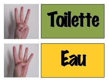 J'utilse des signes