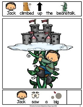 JACK AND THE BEANSTALK-Adapted Book
