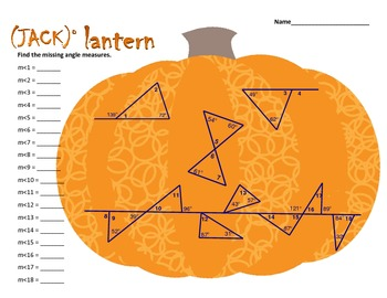 JACK o LANTERN (angle measurement)