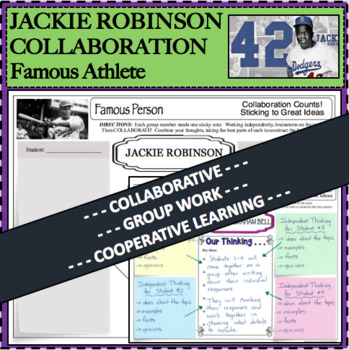 JACKIE ROBINSON Collaboration Activity Research Biography Cooperative Group