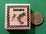 JAMAICA Country/Passport Rubber Stamp
