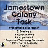JAMESTOWN COLONY ASSESSMENT ITEM SET TASK TEST