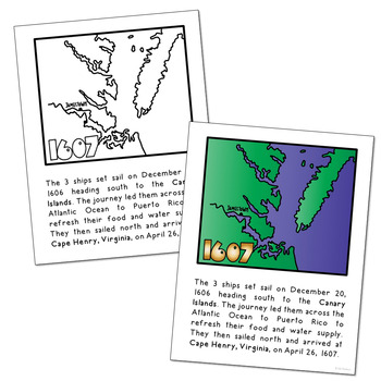 JAMESTOWN SETTLEMENT POSTERS | Coloring Book Pages ...