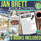 JAN BRETT BUNDLE read aloud lessons