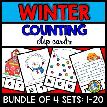 FEBRUARY ACTIVITIES KINDERGARTEN (WINTER COUNTING CENTERS) NUMBERS 1-20