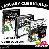 JANUARY PRESCHOOL CURRICULUM MONTHLY LESSON PLANS S1