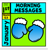 Morning Messages January 1st Grade Winter