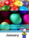 JANUARY   LOUISIANA and our Egg Knocking fun