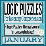 JANUARY Logic Puzzles for Listening Comprehension for SLPs