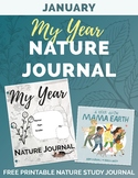JANUARY My Year Nature Journal Printable