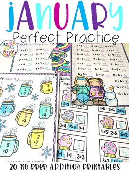 JANUARY Perfect Practice for Addition