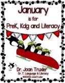JANUARY is for Preschoolers (PreK and Kindergarten)