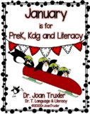 JANUARY is for PreK, Kdg, and Literacy (Distance Learning)