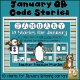 JANUARY QR Code stories - 10 stories for January ~centers reading