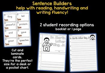 JANUARY Sentence Builders BUNDLE