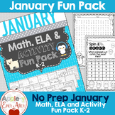 JANUARY WINTER FUN -  NO PREP