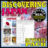 JAPAN: Discovering Japan Activity Pack
