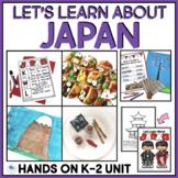 JAPAN ACTIVITIES - FIRST GRADE SOCIAL STUDIES UNIT
