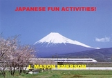 JAPANESE FUN ACTIVITIES! (44 PP)