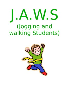 J.A.W.S. Jogging and Walking Students Dinosaur Edition