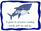 JAWS! aw and au practice