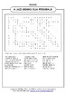 JAZZ LEGEND:  ELLA FITZGERALD (WORD SEARCH)PERFECT FOR BLACK HISTORY MONTH!
