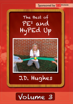 12 lessons DVD by J.D. Hughes' Best of PE² & HyPEd Up Volume 3 DVD Video Lessons
