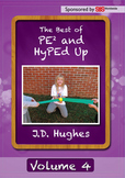 12 lessons DVD by J.D. Hughes' Best of PE² & HyPEd Up Volume 4 DVD Video Lessons