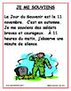 JE ME SOUVIENS FRENCH REMEMBRANCE DAY MINI-UNIT