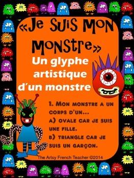 """""""JE SUIS MON MONSTRE"""" -  Un glyphe artistique d'un monstre"""