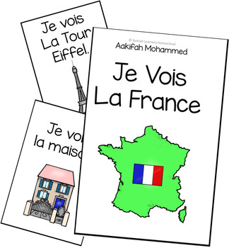 JE VOIS LE FRANCE  (sunnah learners -the reading basket)
