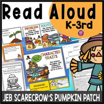 Jeb Scarecrow's Pumpkin Patch Close Read Lesson Plans and