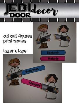JEDI Door Decor {for your Star Wars Classroom}