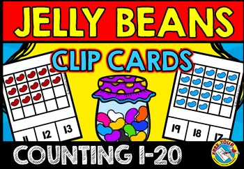 EASTER ACTIVITIES FOR PRESCHOOL AND KINDERGARTEN (JELLY BEANS COUNTING CENTER)