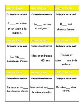 JENGA: French Speaking Jenga Game