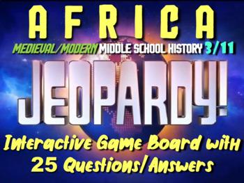 JEOPARDY! Africa Jeopardy