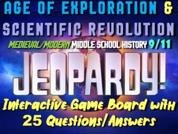 JEOPARDY! Age of Exploration & Scientific Revolution Jeopardy