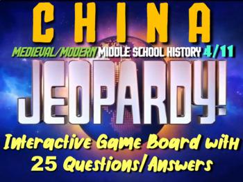 JEOPARDY! China Jeopardy