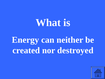 JEOPARDY ENERGY REVIEW