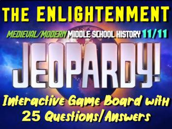 JEOPARDY! Enlightenment Jeopardy