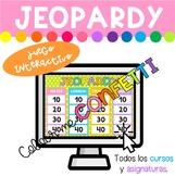 JEOPARDY - Juego interactivo EDITABLE