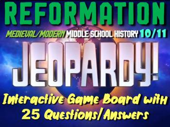 JEOPARDY! Reformation Jeopardy