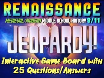 JEOPARDY! Renaissance Jeopardy