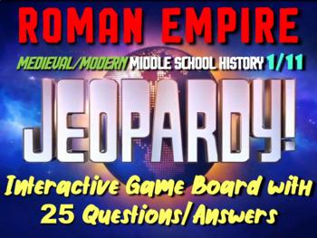 JEOPARDY! Roman Empire Jeopardy